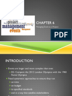 CHAPTER 6 Managing Event as a Project