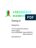 Channing Name Card