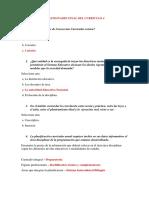 Cuestionario Final Del Curriculo 4 Bien