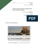 Fuentes Audioviduales en El Marco de Los Estudios de Ciencias Sociales