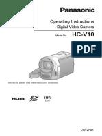 Panasonic HC V10