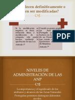 Administracion de ANP