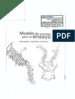 Modelos de Ensayo