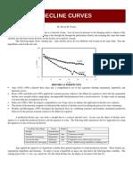 Well Decline Curves - Dr Stephen Poston