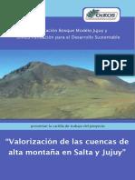 Estudio Hidrografico de La Caldera