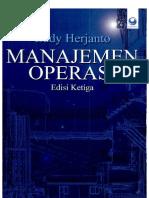 Manajemen Operasi (Edisi 3)