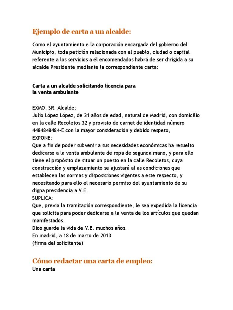 Contemporáneo Muestra De Currículum Para Solicitud De Empleo ...