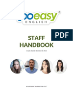 Staff Handbook - 4ta Edición Too Easy English