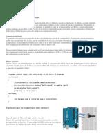 Comunicación Serial Arduino