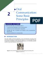 Oral Communication - Some Basic Principles