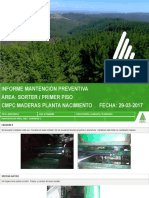 Informe de Mantencion Prev 29-03-2017 Sorter y Primer Piso