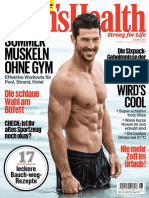 Men's Health Germany - August 2017