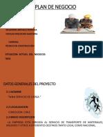 Plan de Negocio Wladimir Arevalo, Nicolas Riquelme