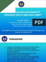 02. Pandangan Dan Dukungan Pt Terhadap Sks Di Sma Pada Pmbpt (Prof. r. Wahab)