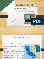 Historia de Internet y La Web TICS II U2 SD
