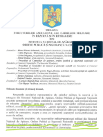 Document asociatii militare