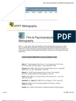 Film & Psychoanalysis Bibliography