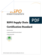 RSPO Supply Chain Standard (2011)-English