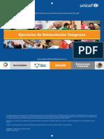 Sencillo Programa de Ejercicios de Estimulación Temprana - Unicef 12 Páginas