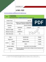 Datasheet of AMG-925|CAS 1401033-86-0|sun-shinechem.com