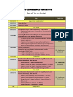 TBSC Conference Tentative - New