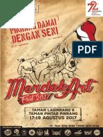 Proposal Merdekart Fest 2017