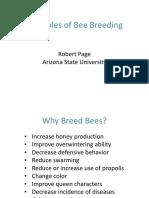 Principles of Bee Breeding - Robert Page