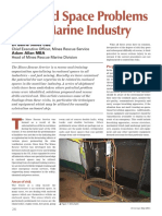 Enclosed Space Problems in the Marine Industry Seaways - May 11