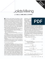Fan Et Al. - Solids Mixing - Ind. and Eng. Chemistry (1970) Vol 62 Nr 7