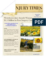 NY Injury Times- Modified July 2010