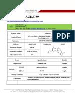 Datasheet of AZD3759|CAS 1626387-80-1|sun-shinechem.com