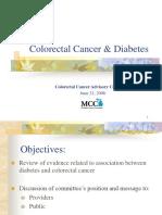 ColorectalCancer&Diabetes