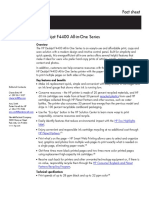 Hp Desk Jet f 4400 Fact Sheet