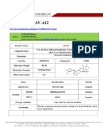 Datasheet of AV-412(Free Base)|CAS 451492-95-8|sun-shinechem.com