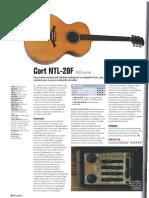 Cort Ntl 20 f Guitarrista