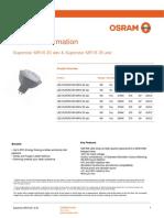 OSRAM Superstar MR16 20 adv & Superstar MR16 35 adv