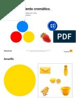 Los Colores. 1- Reconocimiento Cromático