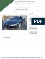 Audi R8 Cabrio in Grau als Gebrauchtwagen in Lautzenhausen für € 30