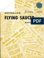 Australian Flying Saucer Review - Volume 1, Number 2 - April 1960