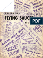 Australian Flying Saucer Review - Volume 1, Number 3 - September 1960