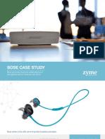 Zyme Bose Case Study Final