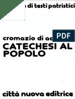 CROMAZIO Catechesi 21 26 e 31