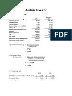 Analisis Investor
