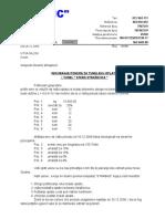 Inoviranje Ponude UTVA , Oplata