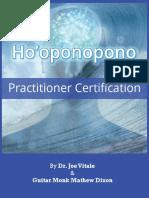 Ho'Oponopono Certification Guidebook