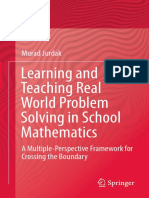 Learning and Teaching Real World Problem Solving in School Mathematics