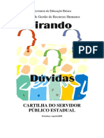 Cartilha Servidor Publico