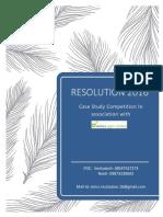 Resolution 2016 Case Study