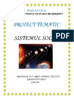 Proiect Sistemul Solar t