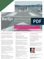 Berlijn Brochure Stadsexpedities